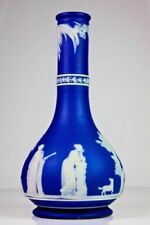 Blue Vase Antique Original Wedgwood Porcelain & China