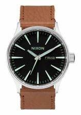 Nixon Genuine Leather Band Casual Wristwatches