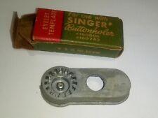 Singer Buttonholer Eyelet Template Simanco Part Number 161231 w/ box ships free