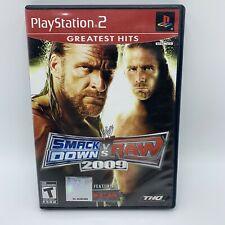 WWE SmackDown vs. Raw 2009 Featuring ECW Sony PlayStation 2 2008 Disc Case PS2