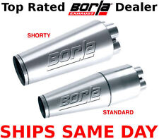 "Borla XR-1 Collector Muffler Standard 40702 (2.0"" In / 3.5"" Out / 18.5"" x 6.25"")"