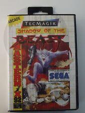 !!! Sega Master juego Shadow of the Beast OVP, usados pero bien!!!