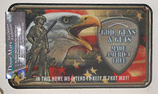 "17.7"" x 30"" Indoor/Outdoor God, Guns and Guts Door Mat #1870"