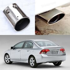 Oval Exhaust Muffler Tail Pipe Tip Tailpipe fit for Honda Civic 2006-2011