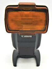 Canon Speedlite 430EX III-RT External Flash (Black) for Canon Type-A EOS Cameras
