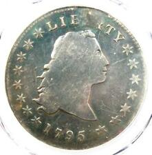 1795 Flowing Hair Silver Dollar ($1 Coin) - Certified PCGS VG Detail - Rare Coin