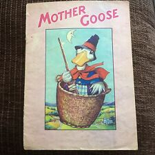 Mother Goose Nursery Rhymes Booklet Birn Brothers 1940s