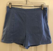Fabulous Armani Exchange Blue High Waisted Shorts Size 28