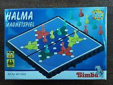 Halma Magnetspiel, Mini-Reisespiel für 2-3 Spieler ab 4 Jahren von Simba