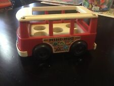 Vintage 70's Fisher Price Mini Bus