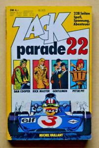Zack parade 22  Koralle Verlag 1977  gebraucht Z 2