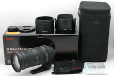 """ Almost Unused "" Sigma 50-500mm f/4.5-6.3 APO DG OS HSM Lens For Nikon Japan"