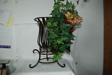 New CELEBRATING HOME METAL CANDLE HOLDER.  with FLOWERS