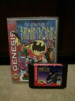 The Adventures of Batman & Robin Sega Genesis 1995 and Custom Case Tested