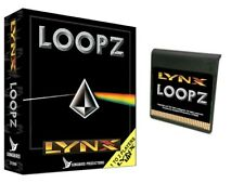LOOPZ for the Atari Lynx BRAND NEW with box, manual, and cartridge Songbird
