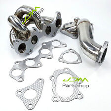 TD04 Turbo Exhaust Manifold +Decat Pipe Kit for Toyota Starlet Glanza EP82 EP91