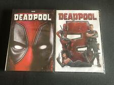 Deadpool 1 & 2 DVD BRAND NEW Marvel Movie Comedy Hero Ryan Reynold