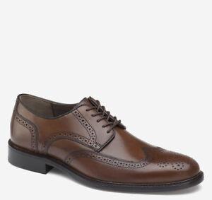 Men's Johnston & Murphy Daley Wingtip Oxfords Dress Shoes - Tan