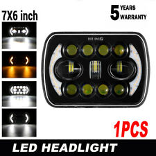 "7x6""LED Headlight Hi/Lo Beam Halo Kit Fit For Express Savana 1500 2500 3500 New"