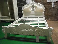 Avorio 4' 6 Doppia Dimensione Francese Stile Barocco Louis... Alta qualità Rococò letto