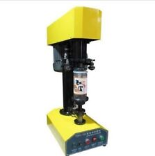 Desk-top automatic container capping machine,cans sealing machine,paper A