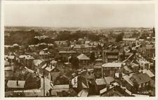 REAL PHOTOGRAPHIC AERIAL VIEW POSTCARD OF RIPON, WEST YORKSHIRE BY MILLER & LANG