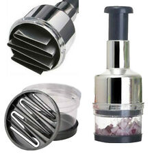 Stainless Fruit Salad Vegetable Onion Garlic Chopper Cutter Slicer Peeler D