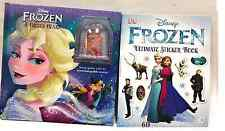 Disney Frozen book set: A Frozen Heart (HC) and The Ultimate Sticker Book