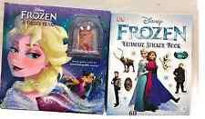 Disney Frozen book set: A Frozen Heart (HC) and The Ultimate Sticker Book