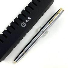 Wing sung 601 Vacumatic Acero estilográfica Extra Fino plumín 0.38mm Escritura Regalo # P
