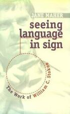 Seeing Language in Sign: The Work of William C. Stokoe-ExLibrary
