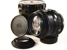 Lens for Nikon JUPITER - 9    85 mm  F : 2  Mount: M42 + Adapter Nikon