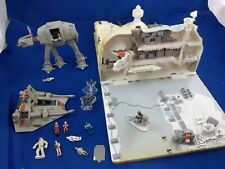 Galoob 1990s Star Wars Micro Machines - Ice Planet Hoth Action Fleet Playset