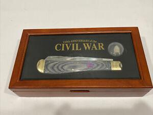 Rough Rider Civil War 150th Folder Knife RR1399.          E8