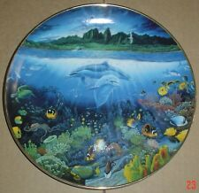 Danbury Mint Collectors Plate A DISCOVERY OFF ANAHOLA From UNDERWATER PARADISE