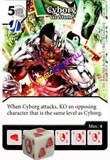 047 CYBORG Vic Stone -Common- JUSTICE LEAGUE - DC Dice Masters