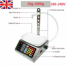 More details for quantitative weighing liquid filling machine automatic/manual control 10g-3kg uk