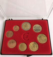 BELGIQUE 2001 - SERIE COMPLETE D'EURO DE CIRCULATION EN COFFRET