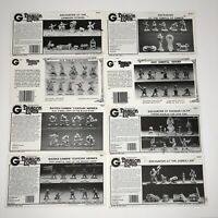 Grenadier Dragon Lords Paper Insert Only Lot of (8) Fantasy Armies VTG 80s Rare