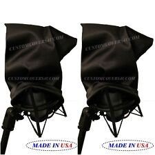 PROFESSIONAL MICROPHONE RECORDING STUDIO CUSTOM FIT DUST COVER +EMBROIDERY