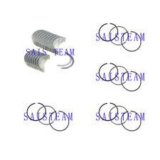 ISUZU 4JB1 4JB1T Main Bearing& Connecting  Rod Bearing  Ring Set Bobcat Loader