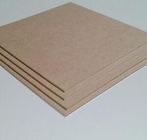 mm MDF Platte 10 mm Zuschnitt M/öbel Regal Boden Basteln Holz Mitteldichtefaserplatte LxBxH 250x250x10