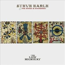 STEVE EARLE & THE DUKES (& DUCHESSES) The Low Highway CD/DVD NEW NTSC ALL