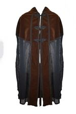 Dark Star Jacket Brown And Black Long Cape. Size 16