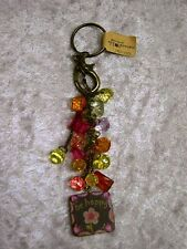 NATURAL LIFE JUNK MARKET JEWELRY GYPSY GIRL KEY RING AND KEY CLIP