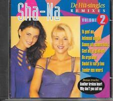 SHA-NA - De Hit-Singles (REMIXES) VOLUME 2 CD 8TR Eurodance Europop 1996 (CNR)