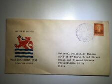 Postal History Netherlands Scott #B248 FDC Watersnood 2/10/1953 Gravenhage NPM