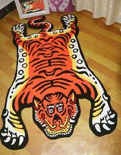 Oriental Beautiful Panthera Tigris Tiger Carpet Area Rug Living Room Anti-Skid