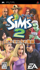 Used PSP The Sims 2: Dr. Dominic no Inbou  Japan Import ((Free shipping))、