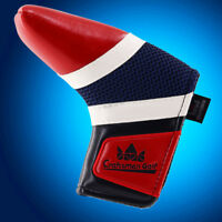 For Scotty Cameron Odyssey PXG Golf Blade Headcover Putter Cover Magnetic Red